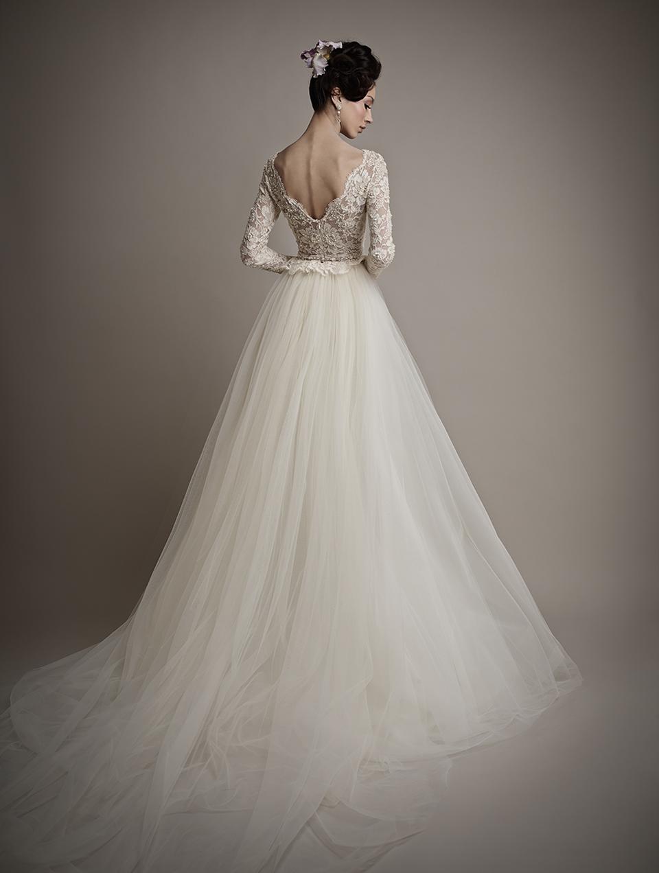 Коллекция свадебных платьев 2015 года от Ersa Atelier4-1
