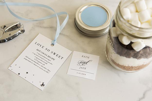 Мастер-класс: смесь для горячего какао в подарок гостям на свадьбе