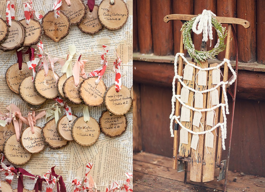 Несколько идей для зимней свадьбы часть 2