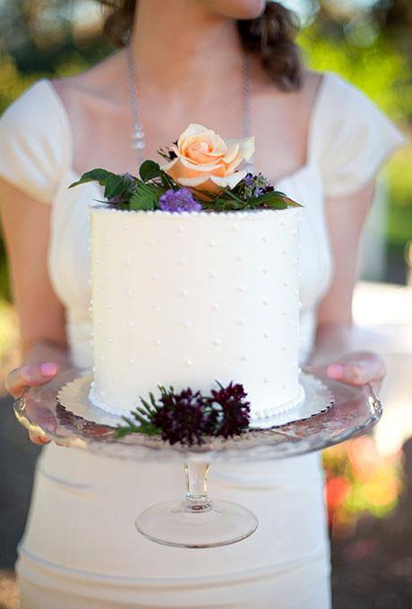 Odnourovnevye-svadebnye-torty5 Одноуровневые свадебные торты