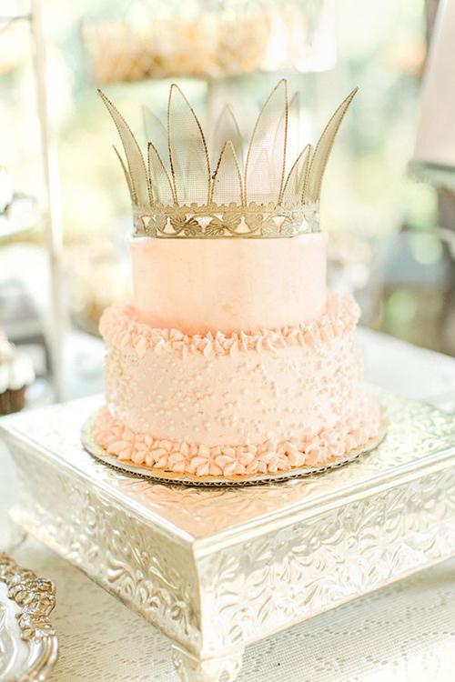 Svadebnye-torty-s-koronami4 Свадебные торты с коронами