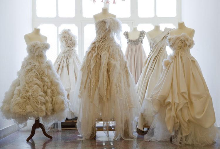 Традиционные ткани для свадебного платья Часть 1