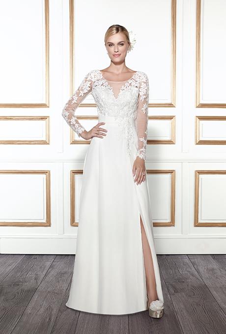Trendy-2015-goda-dlinnye-rukava8 Тренды свадебных платьев 2015 года: длинные рукава