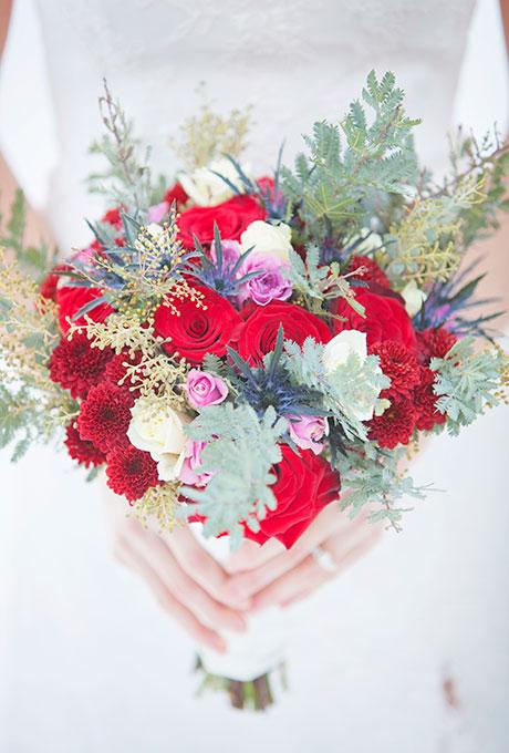 Zimnie-svadebnye-bukety1 Зимние свадебные букеты: выбираем зимний букет
