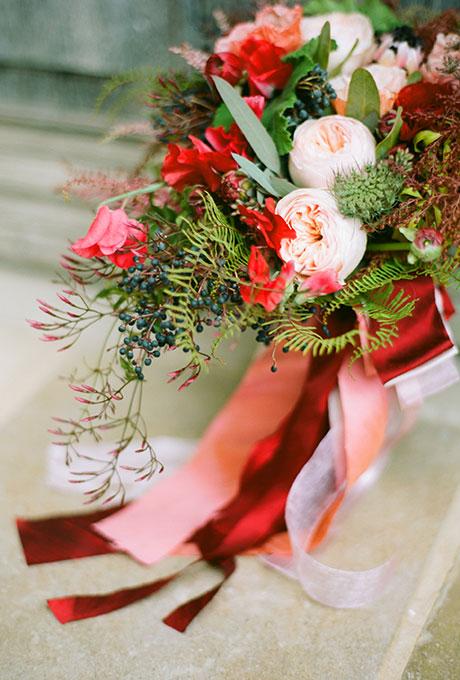 Zimnie-svadebnye-bukety3 Зимние свадебные букеты: выбираем зимний букет