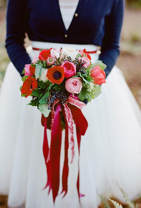 Zimnie-svadebnye-bukety7 Зимние свадебные букеты: выбираем зимний букет