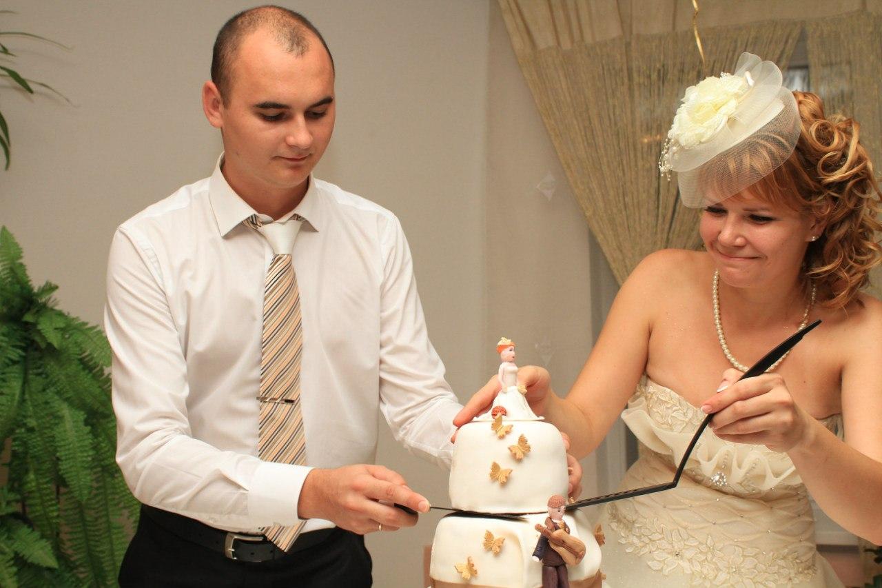 Мастер класс свадебный торт