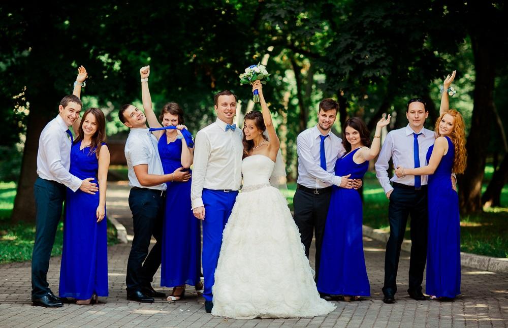 В каких цветах бывают свадьбы