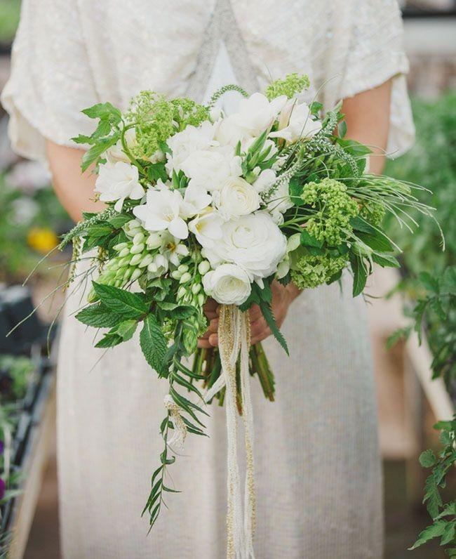 1113 Свежая и гармоничная свадьба в зеленом цвете