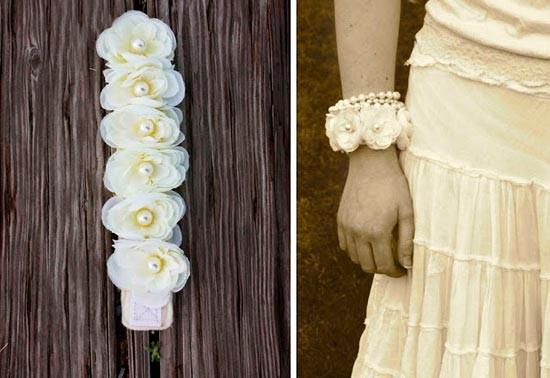 Браслеты цветы своими руками фото