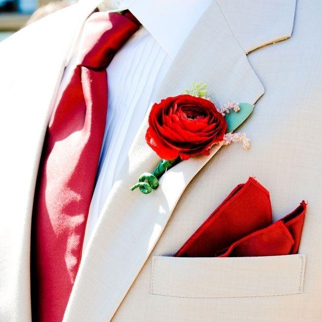 12 Нежная и страстная свадьба в красно-белом цвете