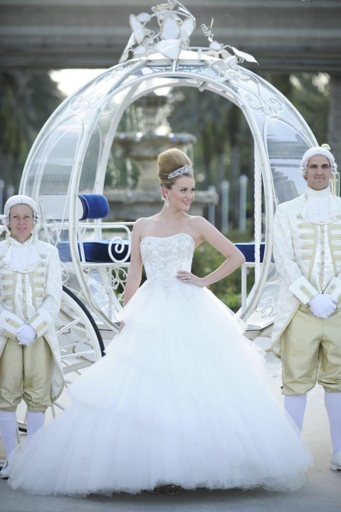 """1219-683x1024 Роскошная свадьба в стиле сказки """"Золушка"""""""