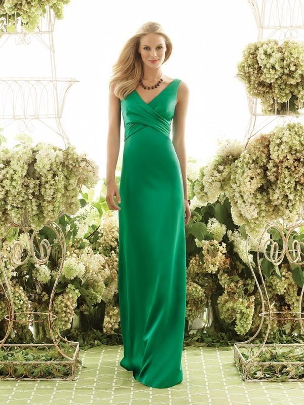 129 Свежая и гармоничная свадьба в зеленом цвете