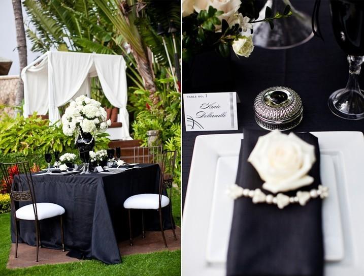 13183.717x543.1404303587 Свадьба в черно-белом цвете: просто и со вкусом