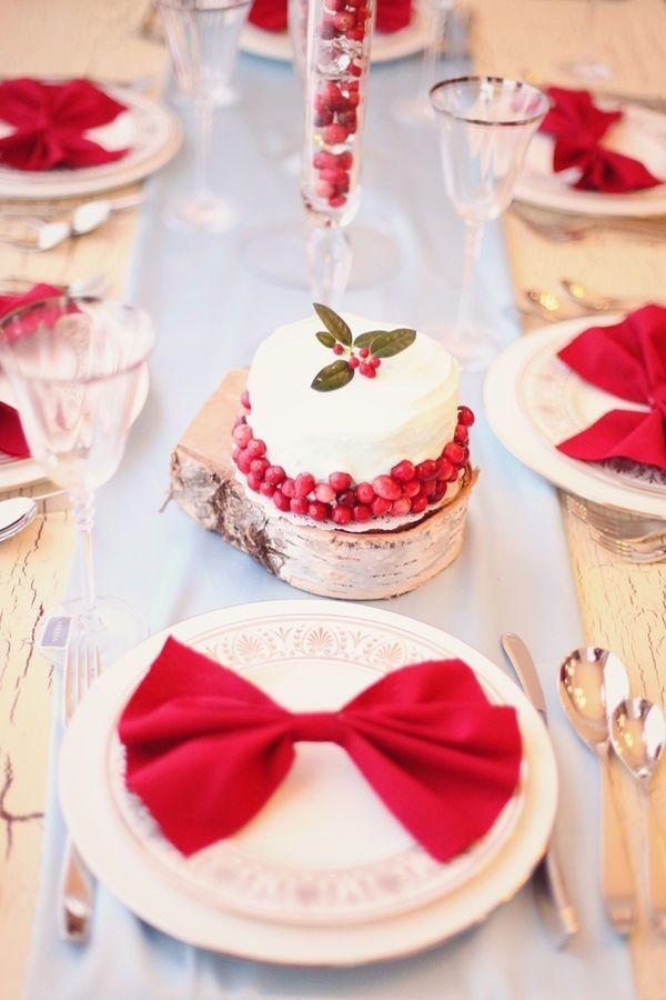 21 Нежная и страстная свадьба в красно-белом цвете