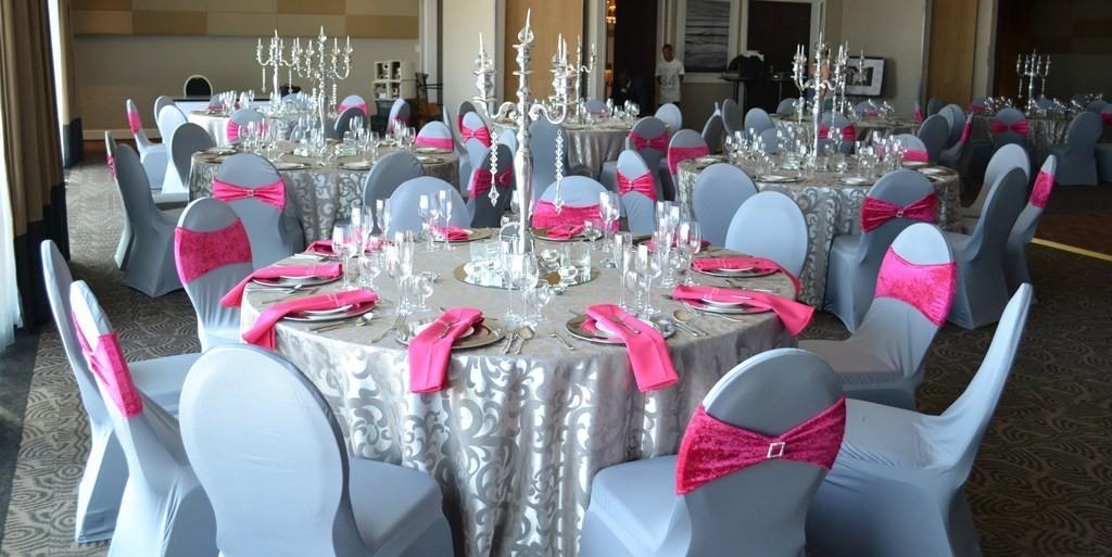 Серебристый цвет свадьбы