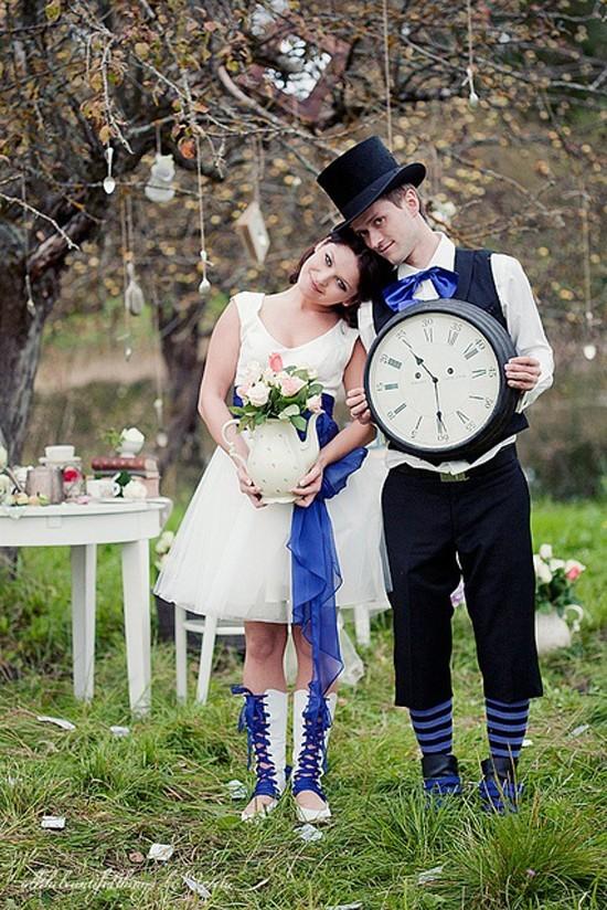 """322 Легкое творческое безумство свадьбы в стиле """"Алисы в Стране Чудес"""""""