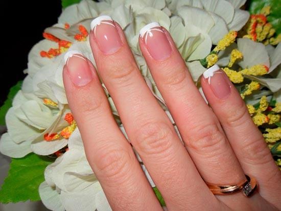 591 Свадебный маникюр для невест со светлой кожей: фото и идеи