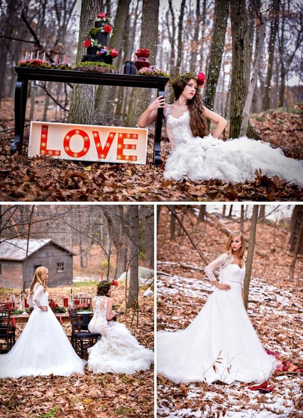 Belosnezhka1 Тематические свадебные фотосессии: Белоснежка