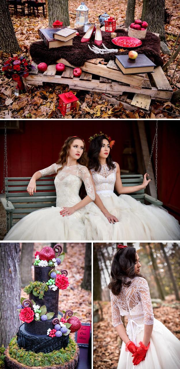 Belosnezhka3 Тематические свадебные фотосессии: Белоснежка