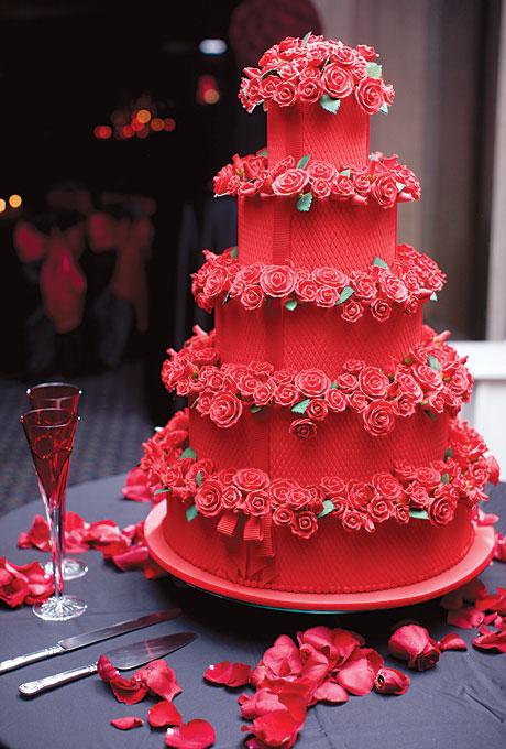 barhatnyj-tort Свадьба в стиле «бархат» - идеальная тематика для зимнего торжества