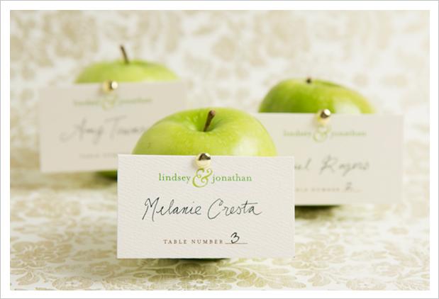 Мастер-класс: фруктовые карточки рассадки