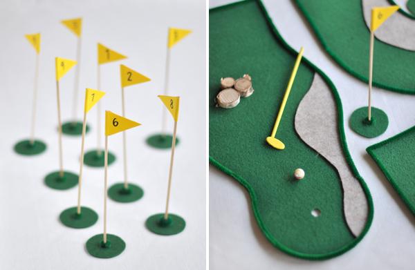 nastolnyj-golf2 Свадебные мастер классы, нюансы и особенности создания полезных элементов для декора своей свадьбы