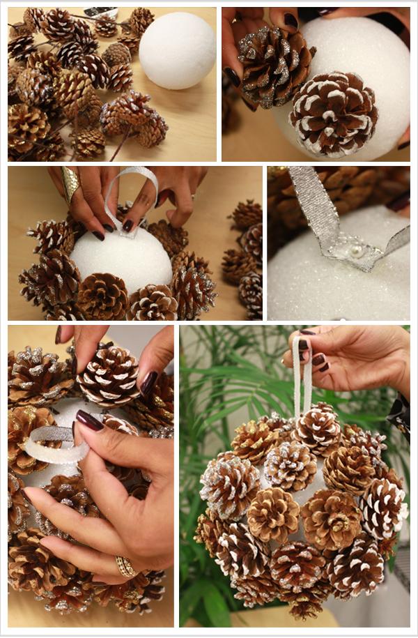 shar-iz-shishek Свадебный мастер-класс: шар из шишек