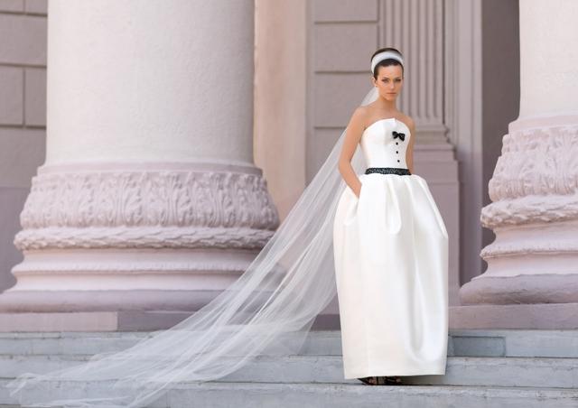 Фасон свадебного платья тюльпан – один из самых модных трендов 2015 года