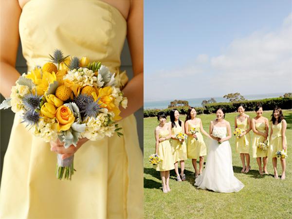 zheltoe-svadebnoe-plate Мода 2015 года: желтое свадебное платье