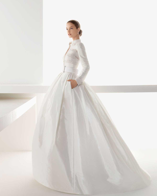 136890.imgcache Фотоподборка свадебных платьев с карманами