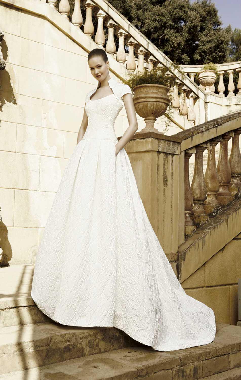 1_615_7420Dama10-16469 Фотоподборка свадебных платьев с карманами