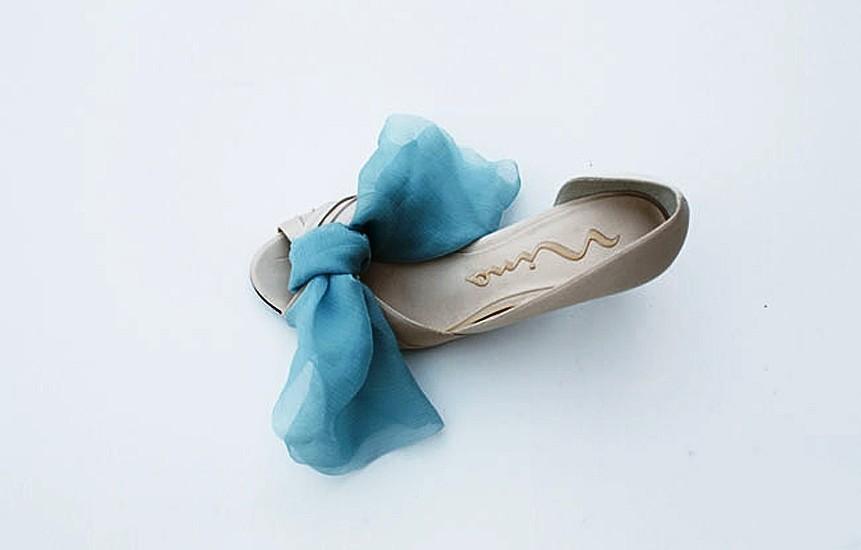 42 Мастер-класс: элегантное украшение для свадебных туфелек