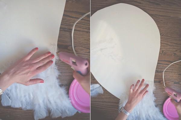 Как сделать крылья ангелов своими руками