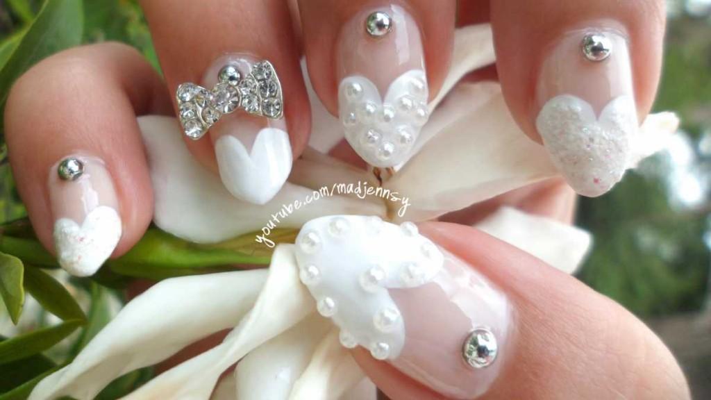 Ekstremalnyj-svadebnyj-manikyur-1024x576 Свадебный маникюр. Какой маникюр лучше сделать на свадьбу? Тенденции моды  на свадебный маникюр