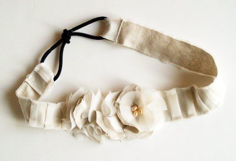 Мастер-класс: миленький ободок в винтажном стиле