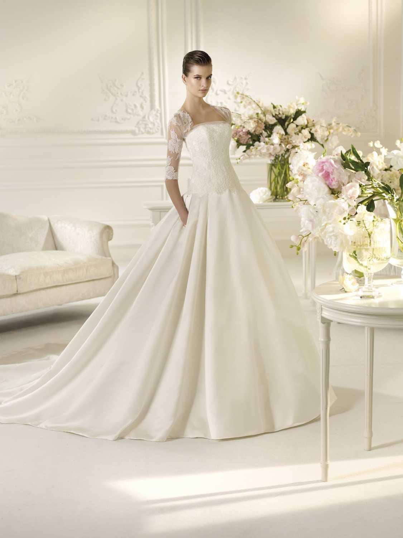 Nelson Фотоподборка свадебных платьев с карманами