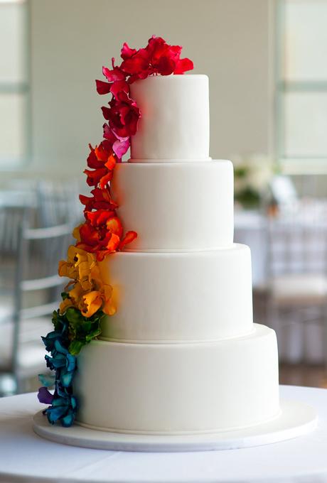 YArkie-svadebnye-torty1 Яркие свадебные торты