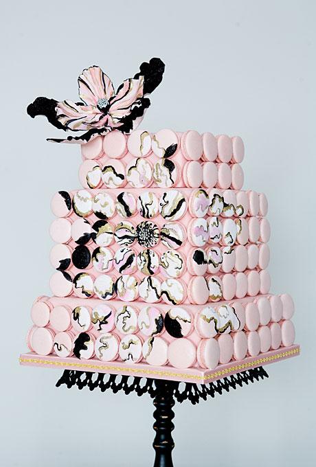 YArkie-svadebnye-torty4 Яркие свадебные торты
