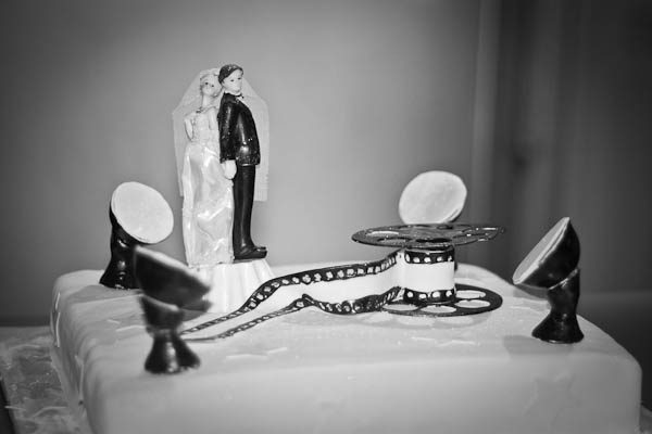 """Свадьба в стиле """"Черно-белое кино"""""""