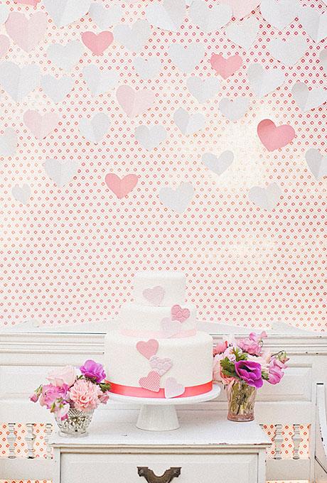 serdtse1 Тематические свадебные торты: сердце