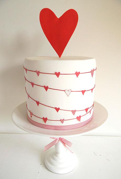 serdtse3 Тематические свадебные торты: сердце