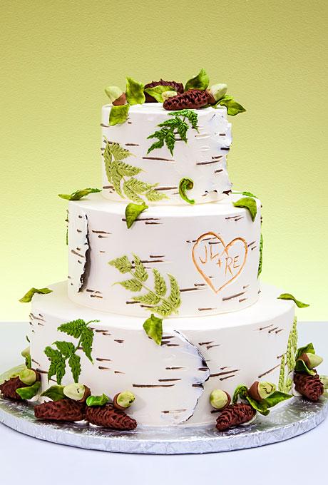 serdtse6 Тематические свадебные торты: сердце