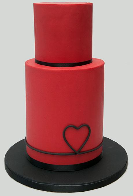serdtse7 Тематические свадебные торты: сердце