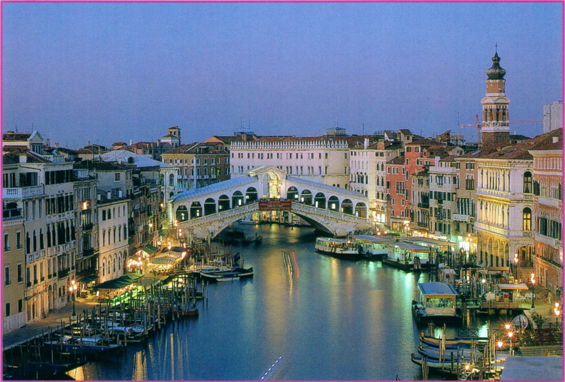 Свадебное путешествие в  Венецию
