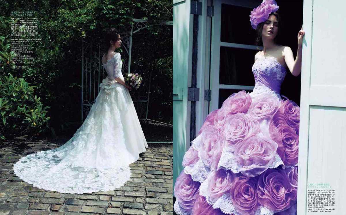 2_2 Роскошные свадебные платья от Hisako Takayama