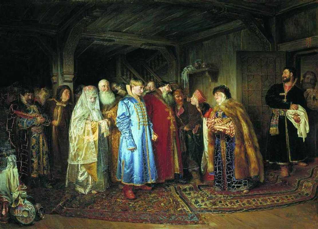 Как проходили царские свадьбы? часть I