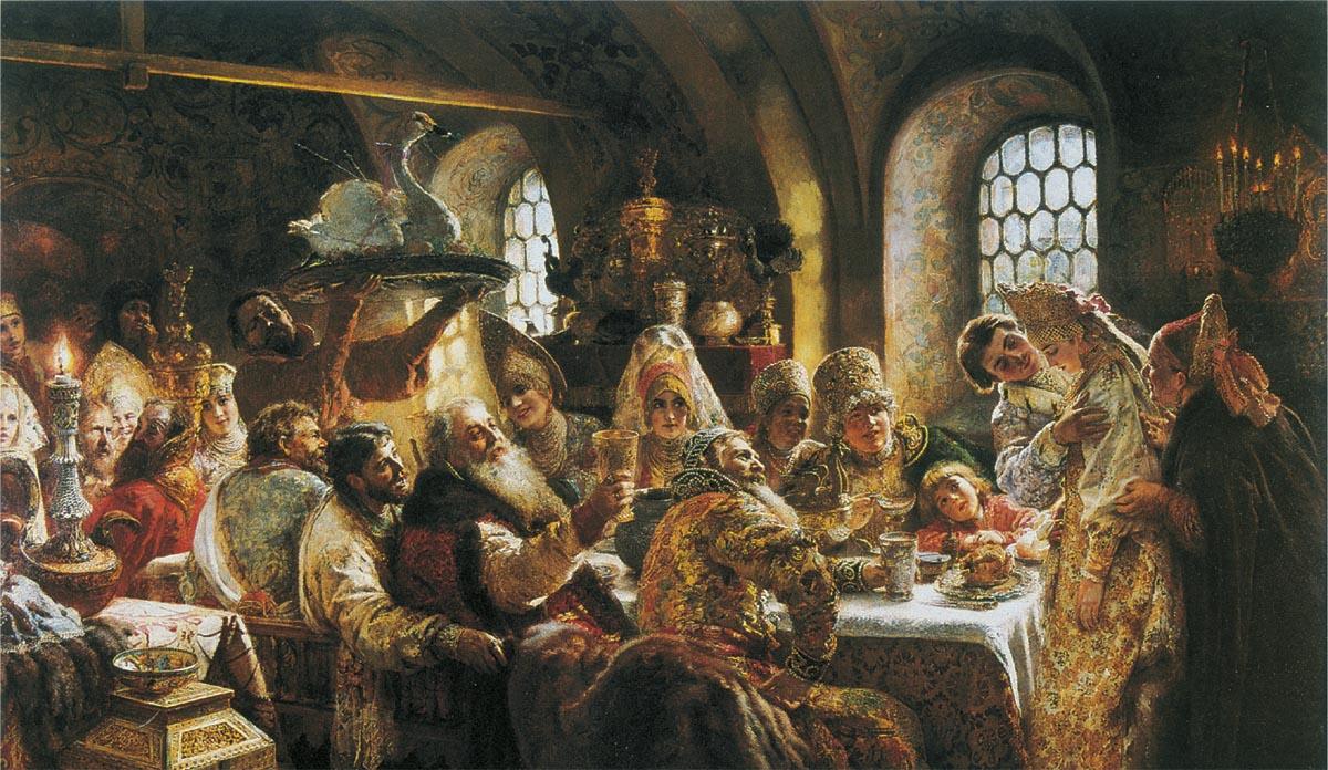 Как проходили царские свадьбы? часть III