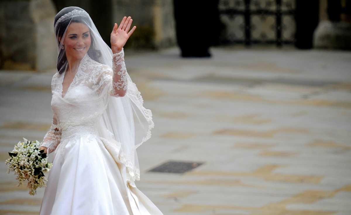 Свадебные букеты известных невест, часть 2