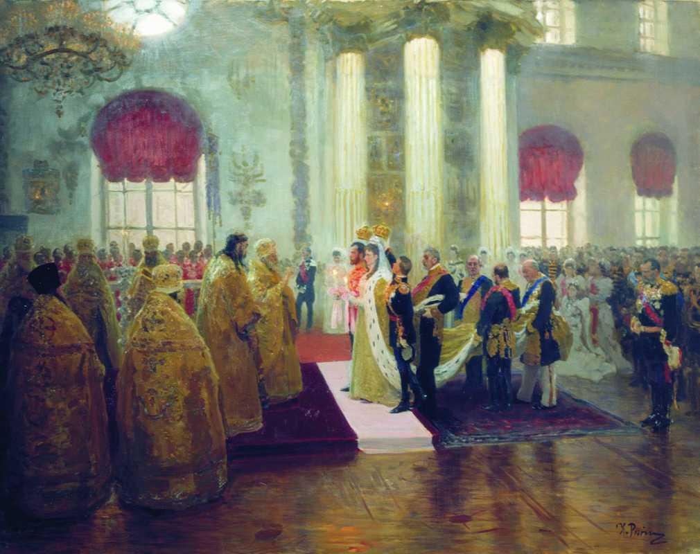 Как проходили царские свадьбы? часть II